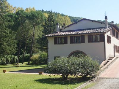 Photo for I Ginepri - Villa with park and swimming pool on the hills near Florence