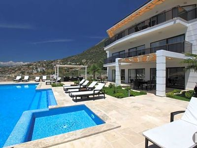 Photo for Kalkan Villa, Sleeps 14 with Pool and Air Con