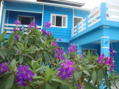 Photo for Beach house, two floors, with large 160m2.