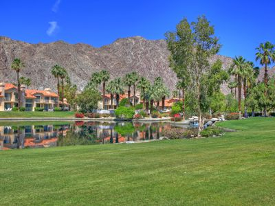 Photo for 110LQ UPSTAIRS 2 BEDROOM PLUS DEN 2 BATH CONDO IN THE PALMER GATE AT PGA WEST