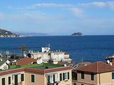 Photo for Teresia accommodation with balcony overlooking the sea.