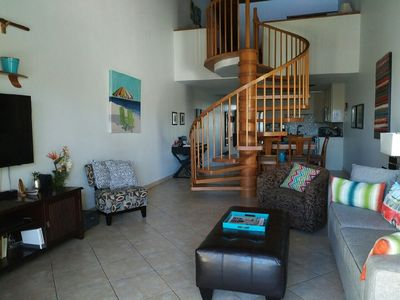 Photo for Premium Top Floor, 2 Bedroom, Ocean View , Steps to Pool and Beach,