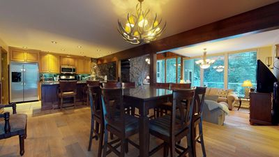 Photo for Spacious House On GORE CREEK ~ 5 Bed / 5 Baths (Sleeps 12) Bus Stop next door!