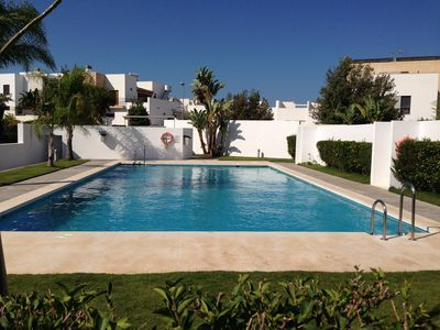 Photo for APARTMENT Ideal for FAMILIES - Playa de la Fontanilla - SWIMMING POOL and WIFI