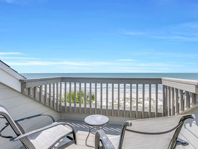 Photo for Full Gulf View! 2BR All-Suite w/ Private Access to Indian Rocks  Beach