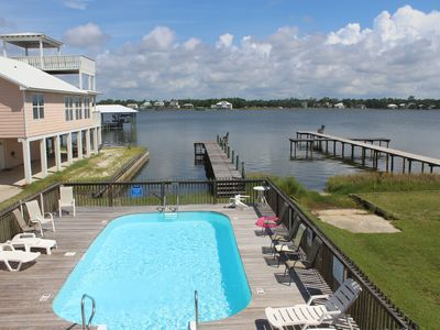 Photo for Lagoon Front AND next to Pool & Pier!