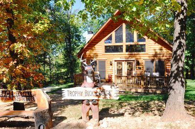 Secluded Amazing Cabin Perfect Location Hot Tub Decks With View Loft Game Table Near Big Cedar Trophy Buck Ridgedale