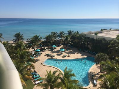 Photo for Beautiful oceanfront condo on Hollywood Beach New Admin!