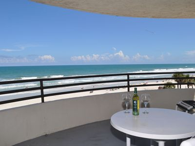 Photo for Spectacular Direct Oceanfront Luxury Condo-Large Private Balcony, Views Galore