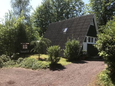 Photo for Cozy cottage with outdoor sauna and air conditioning