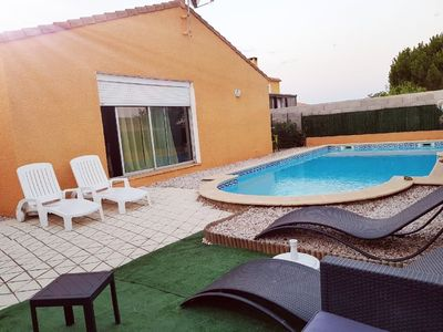 Photo for MARSEILLAN HOUSE-VILLA 160M ² WITH SWIMMING POOL FOR 8 PEOPLE