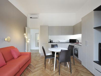 Photo for Quarzo apartment in Centro Storico with WiFi, integrated air conditioning & lift.