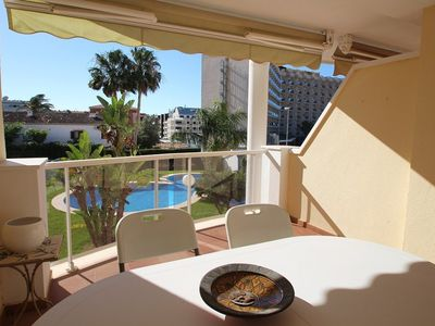 Photo for Beautiful and comfortable apartment in Denia, on the Costa Blanca, Spain  with communal pool for 5 persons