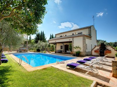 Photo for Arriate Villa, Sleeps 8 with Pool, Air Con and WiFi