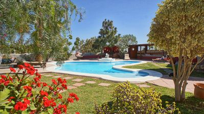 Photo for Holiday Cottage on a Finca with pool, Tenerife south, above El Medano