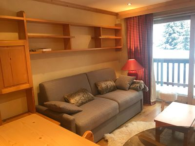 Photo for Méribel Center, in the heart of the slopes and 50 m from the city center. Bright apartment.