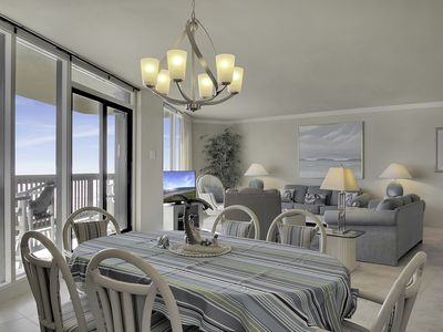 Photo for Sandpiper #405: Beachfront 3 Bedroom 2 1/2 Bathroom With Spectacular Views and 24 Hour Management