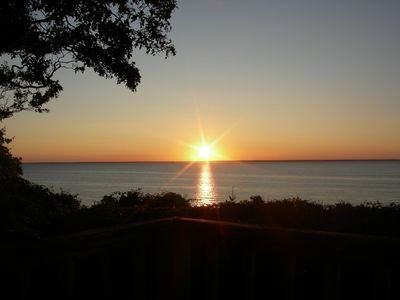 Photo for Luxury Waterfront home with spectacular western ocean views...enjoy the sunsets!