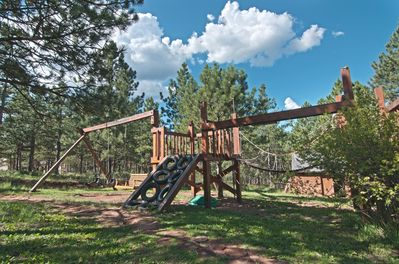 Your kids will love this large, private playground.  Also enjoy - our basketball court, tether ball, volleyball and more.