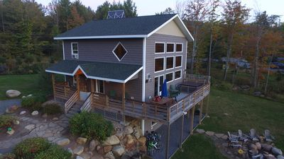 Hot Tub, Sauna, Fireplace, A/C, Dog Friendly, 1.9 mi to Whiteface, Mountain View, Lookout Mountain Chalet
