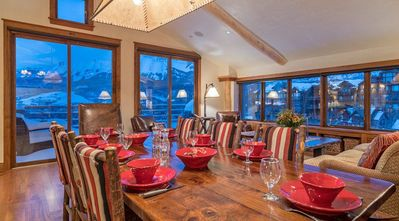 Photo for Beautiful  Ski-in/Ski-out Peaks Penthouse in Mountain Village with Spectacular Views
