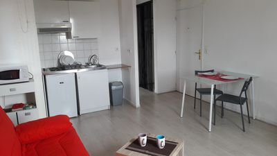 Photo for GRAND apartment 25 m, near the city center, railway station and bus (destination tracks)