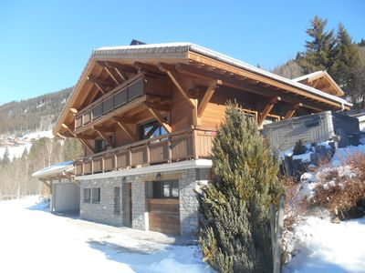 Photo for CHALET 15 people, at the entrance of CHATEL, with sauna, jacuzzi, cinema room