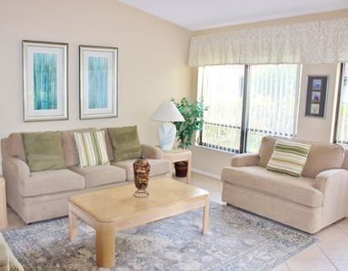 Photo for End unit with spacious, private lanai - Two bedrooms and two bathrooms
