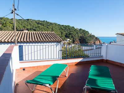 Photo for CA L'ESTANY CLOS-town house in the center of Tamariu-Costa Brava