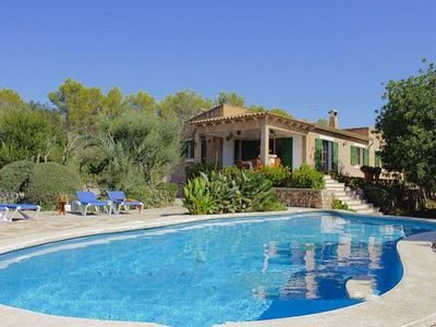 Photo for 3 bedroom Villa, sleeps 6 in Cas Concos with Air Con and WiFi