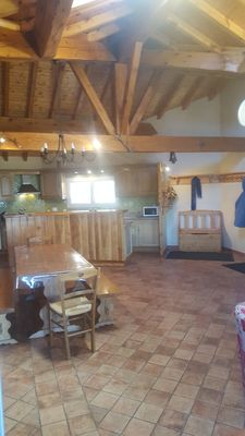 Photo for Apartment located in a farm, in a mountain village in Formiguères