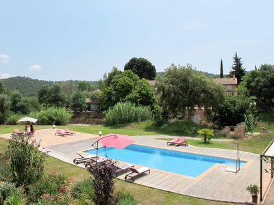 Photo for One bedroom Villa, sleeps 2 in Notre-Dame des Maures with Pool, Air Con and WiFi