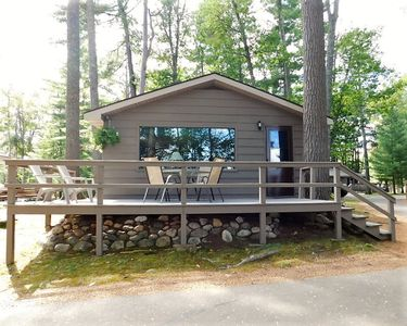 Photo for New! 2 Bedroom cottage at Black Bear Resort on Little Saint Germain Lake!