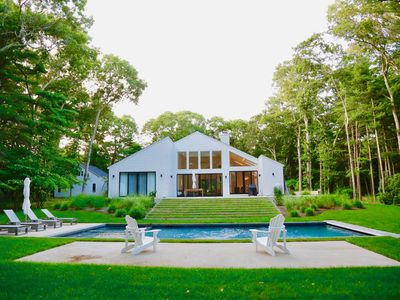 Photo for Newly Renovated Modern Secluded East Hampton Retreat