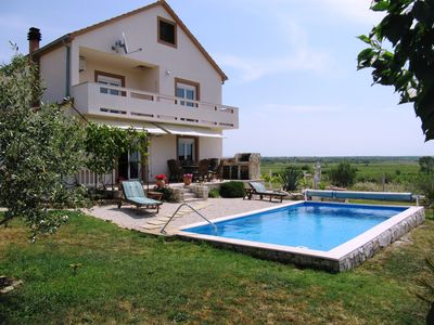 Photo for Spacious Villa with 28 sqm Pool, Stunning Countryside Views & Tranquil Location