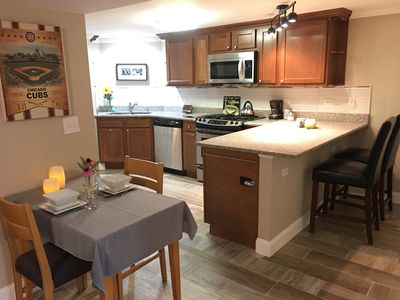 Spacious full kitchen with everything you need to whip something up.