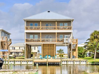 Photo for NEW! Dauphin Island Luxury: Spacious Stilted Home!