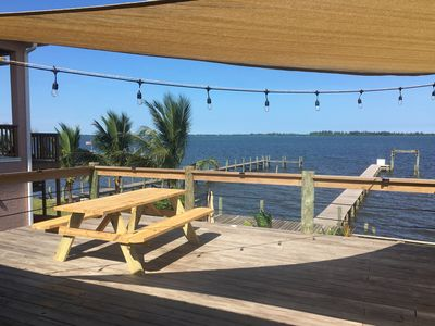 Photo for Direct waterfront with boat dock in sight of Sebastian Inlet!!!!!!