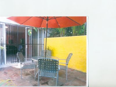 Photo for Cozy Ground Fl 1 Bedroom Condo In Very Popular Complex W/ Large Pool And Garden