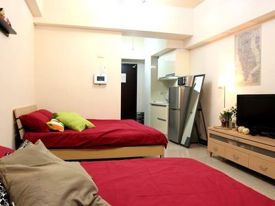 Photo for 1BR Apartment Vacation Rental in Taipei, Taipei City
