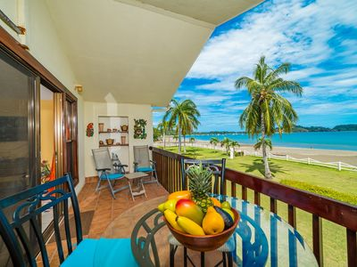 Photo for Beach Front Feet in the Sand, Ocean View, 1 BR 1BA, Ocean Front Pool