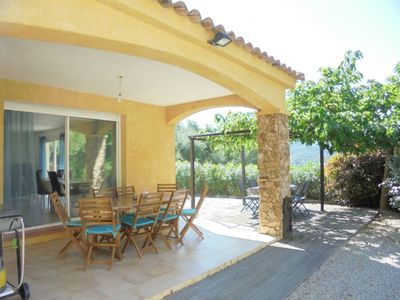 Photo for Beautiful villa F4 with swimming pool just 2 minutes from the beach of Agosta