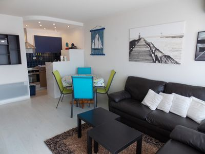 Photo for Apartment 4-6 people on the port of Capbreton-Residence with swimming pool