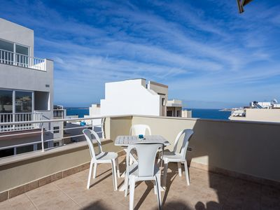Photo for Seaview Penthouse, Modern, Top Location, 30meters to seafront, quiet location