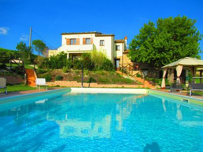 Photo for Casa dei sogni d'Oro - Apartment Palazzo with pool 12x6 m - panoramic view