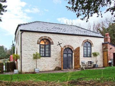 Photo for THE OLD BAPTIST CHAPEL, pet friendly in Penallt, Ref 22484
