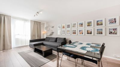 Photo for Large apartment in NW1 sleeps 6