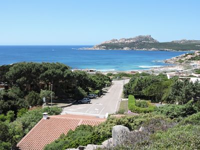 View of bay and roof of Villa Istella - Yes, less than 3 min to the beach!