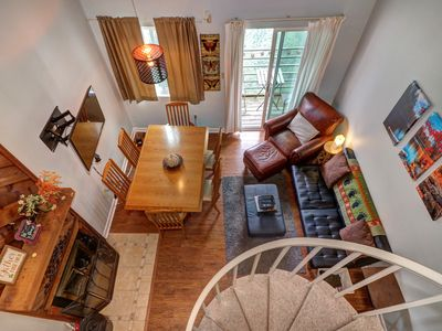 Photo for NEW LISTING! Mountaintop condo w/balcony, shared pool/hot tub/arcade