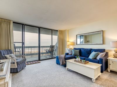 Photo for Updated oceanfront home w/ shared indoor pool & private balcony w/ amazing views